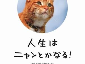 新作『人生はニャンとかなる!』の表紙。前作『人生はワンチャンス!』の大ヒットに続く予感