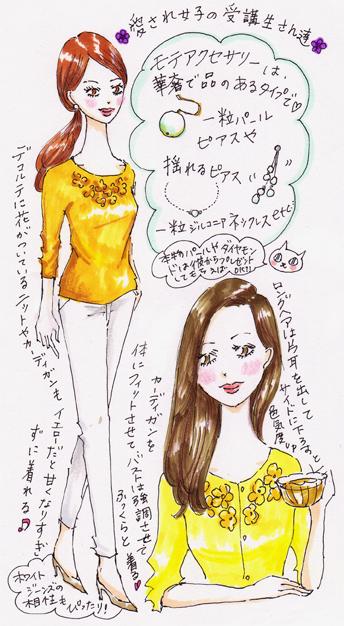 今年のモテカラーはイエロー(黄色)!春のファッションを楽しんで!